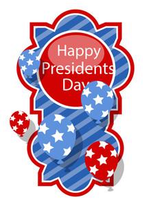 Happy Presidents Day Vector Design Banner