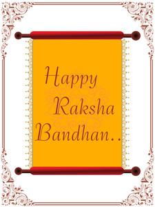 Happy Rakshabandhan Letterpad