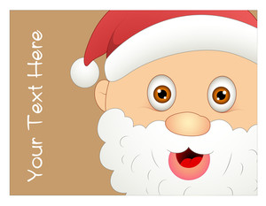 Happy Santa Greeting Card