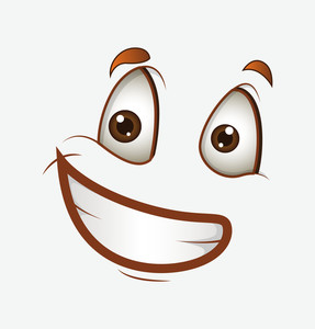 Happy Smile Cartoon Face
