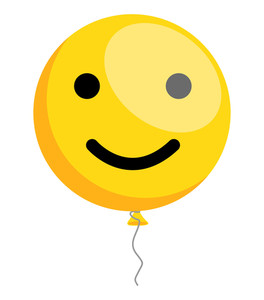 Happy Smiley Balloon