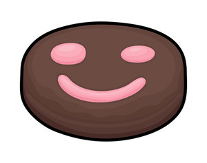Happy Smiley Chocolate Candy