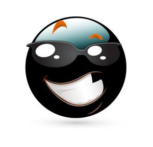 Happy Smiley With Sunglasses