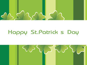 Happy St. Patrick's Banner 17 March