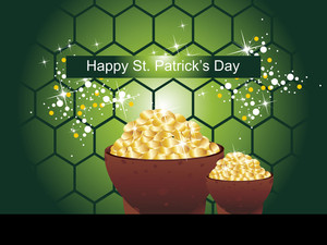 Happy St. Patrick's Day Background