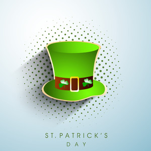 Happy St. Patricks Day Concept With Blanks Space For Your Message
