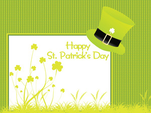 Happy St. Patrick's Day Illustration 17 March