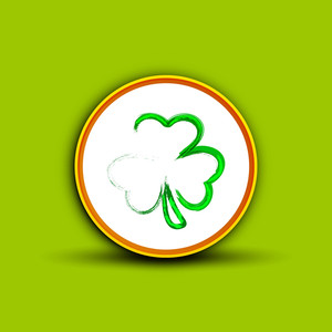 Happy St. Patrick's Day Sticker