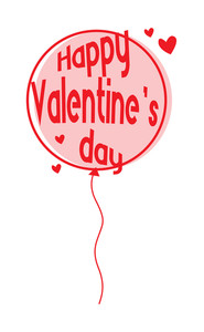 Happy Valentine's Day Balloon