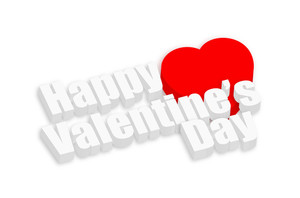 Happy Valentine's Day Greeting Banner
