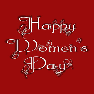 Happy Women's Day Background.