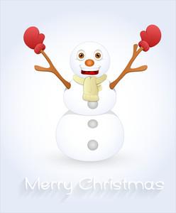 Happy Xmas Snowman