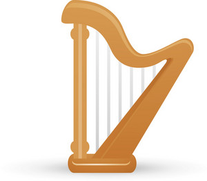 Harp Instrument Lite Music Icons