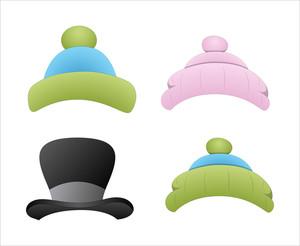 Hat And Caps Vectors