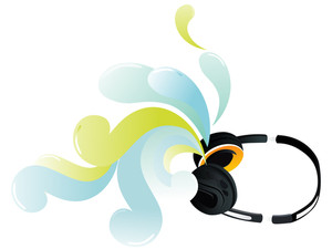 Headphone And Artwork