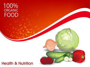Health And Nutrition Background
