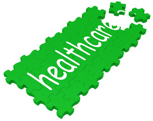 Health Care Puzzle Shows Medical Care