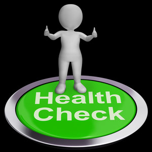 Health Check Button Shows Medical Condition Examinations