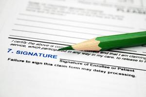 Health Form - Signature