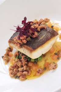 Healthy Plated Fish Meal