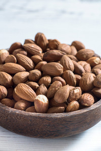 Heap Od Almonds