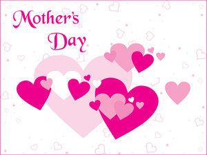 Heart Background For Mother Day