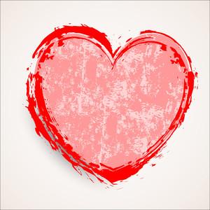Heart Grunge Banner