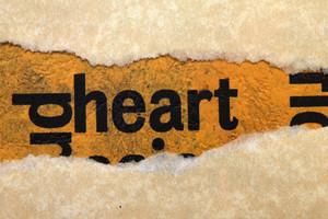 Heart Paper Torn