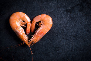 Heart Shape Shrimp