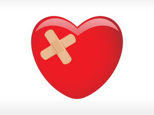 Heart With A Plaster