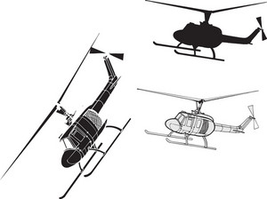 Helicopter Vector Element