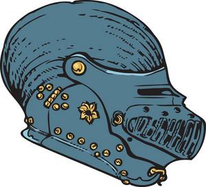 Helmet Vector Element