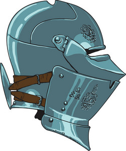Helmet Vector Element