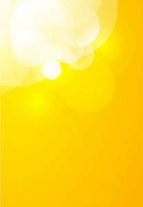 High Contrast Yellow Sunburst Background In Vector Format