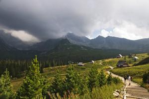 High Polish Tatra Landscape