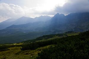 High Polish Tatra Mountain Background