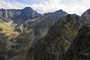 High Polish Tatra Mountain