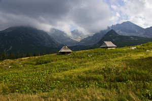 High Polish Tatra Mountains Shelter