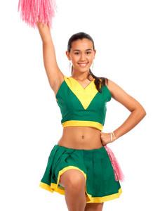 High School Cheerleader Dancing