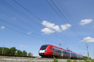 high speed commuting train