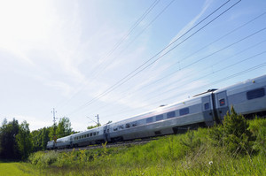 high-speed commuting train