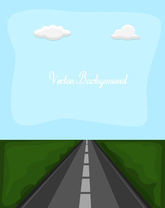 Highway Road Background