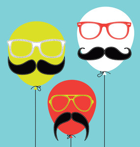 Hipster Balloons
