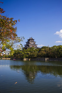 Hiroshima Castle. Japan