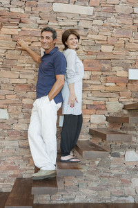 Hispanic couple portrait
