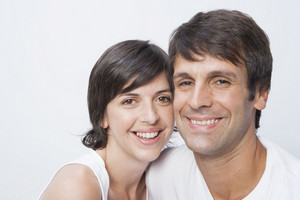 西班牙裔夫婦一起