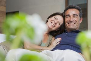 Hispanic seniors spending quality time together