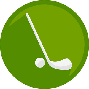 Hockey Ball Icon