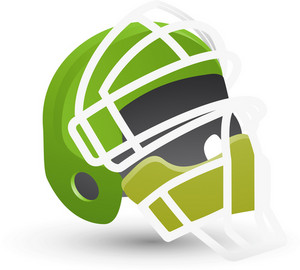 Hockey Goalie Mask Lite Sports Icon