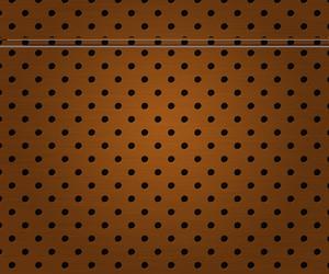 Holes In Brown Metal Plate